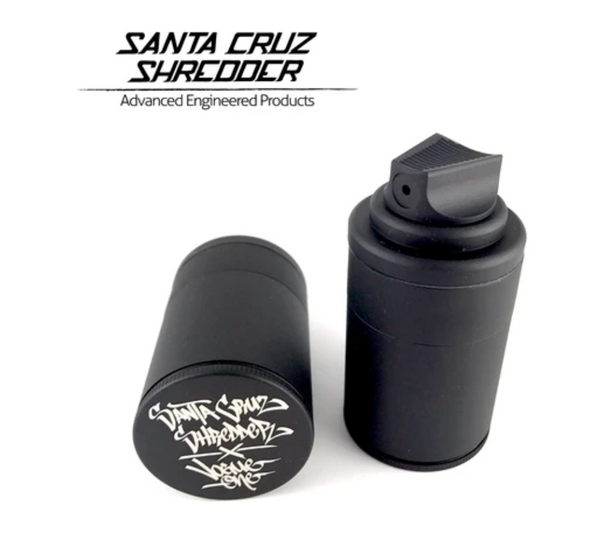 SANTA CRUZ SHREDDER.3 PIECE SMALL MATTE BLACK SPRAY CAN