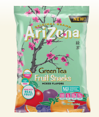 Exotic Arizona Green Tea Fruit Snack