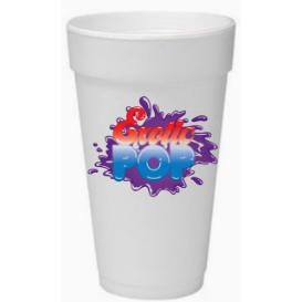 Exotic Pop Styrofoam Cup