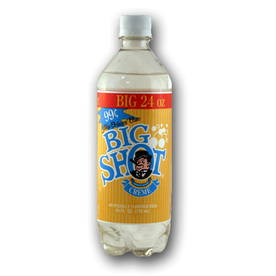 BIG SHOT CREAM SODA - EXOTIC POP