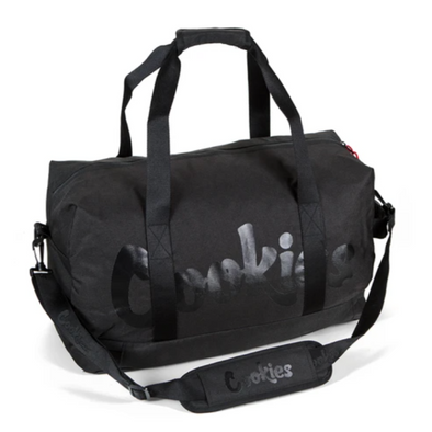 EXPLORER NYLON / POLY SMELL PROOF DUFFEL BAG BLK
