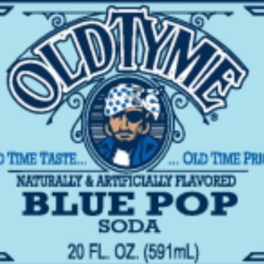 Old Tyme Blue Pop EXOTIC POP