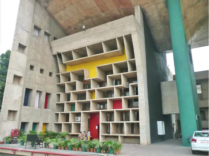 Architecture travel quests Chandigarh India