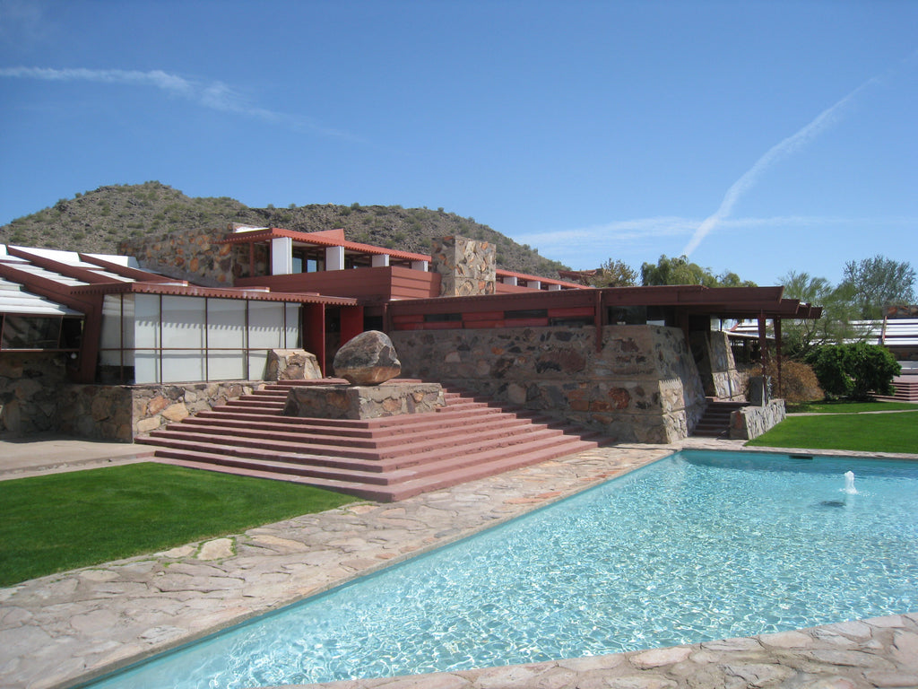Architecture travel quests Frank Lloyd Wright Taliesin West