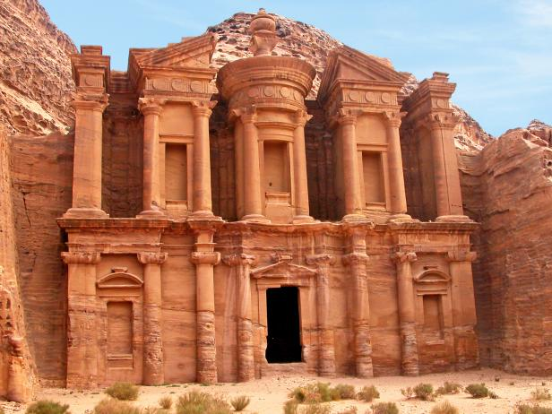 Architecture travel quests Petra Jordan