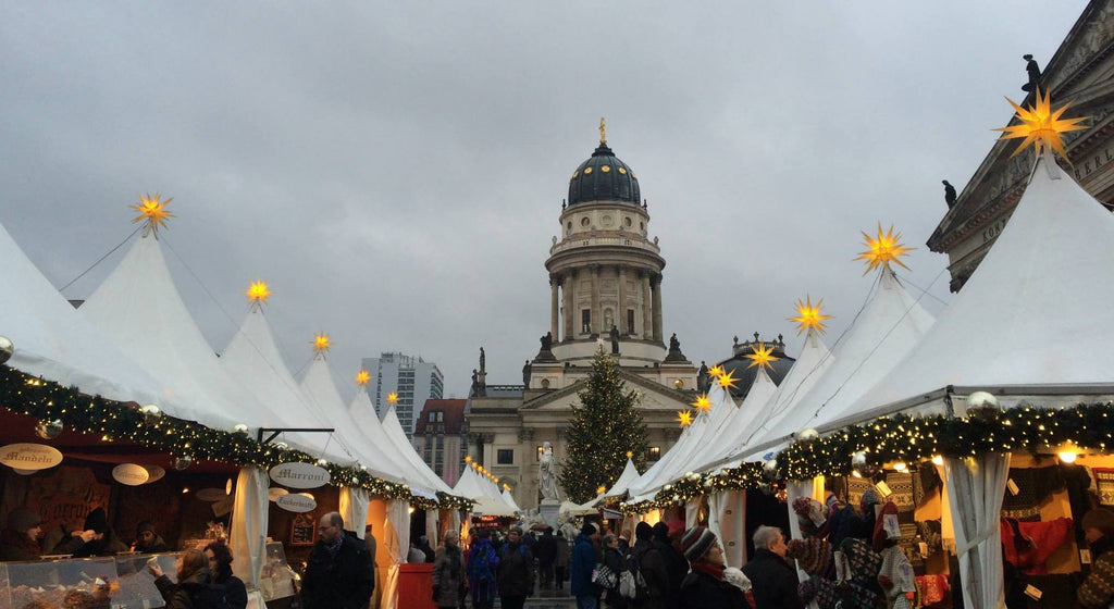 Best places to travel for holidays - Berlin Christmas market
