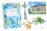 Best travel guide unique travel gift Paris in Stride
