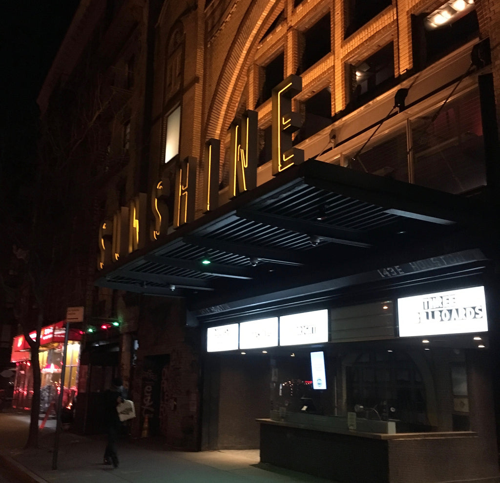 Film travel quests - Sunshine Cinema NYC