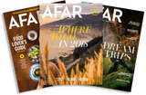 Afar travel magazine subscription - gift for travel inspiration