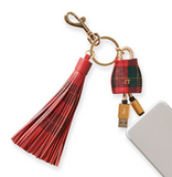 Mark & Graham keychain charger practical travel gift for globe trotters