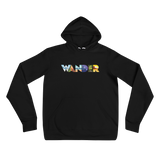 Wander hoodie gift for the travel journal