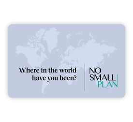 No Small Plan best gift card for travelers