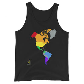 Pride World Map Tank Top