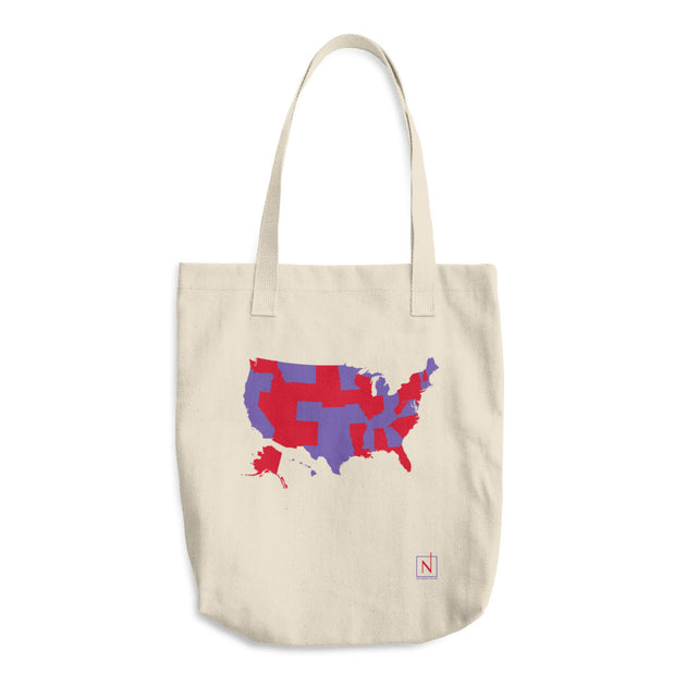 Us Map States Ive Visited Denim Tote Bag No Small Plan - Us-map-states-i-ve-visited