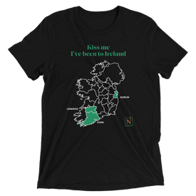 Men's Kiss Me I've Been to Ireland T-Shirt