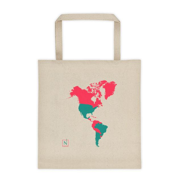 Places ive been world map canvas tote bag no small plan world map canvas tote bag 3200 previous gumiabroncs Choice Image