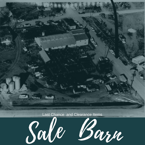 Sale Barn- Clearance & Last Chance