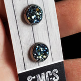8mm tiny Druzy Studs - Momma's Country Soul