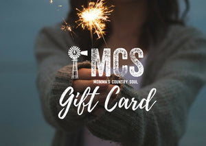 Gift Card - Momma's Country Soul