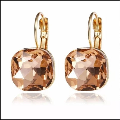 Blush Australian Crystal Dangles