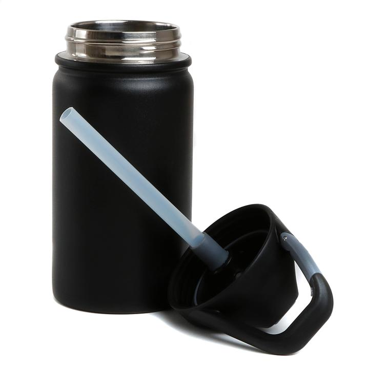Lil 12oz Water Bottle (Tuff Black)