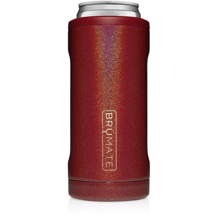 Hopsulator Slim by BruMate® (Glitter Ruby)