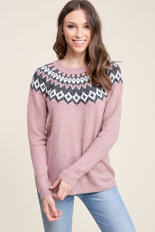 Tonya Sweater (Mauve)