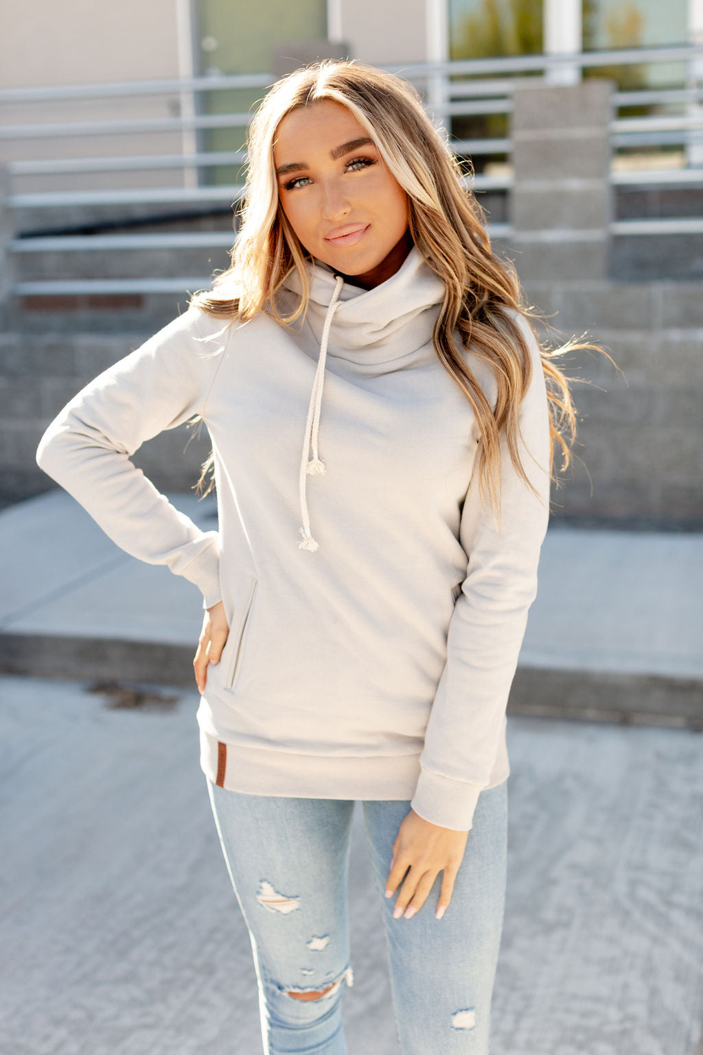 SingleHood Sweatshirt (Light Grey)