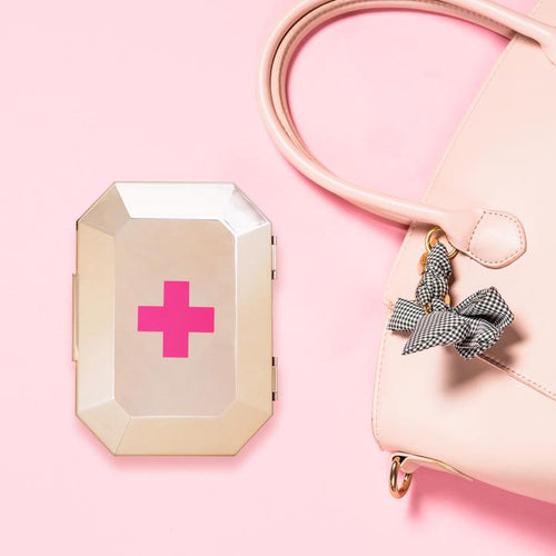 First Aid Clutch (Rose Gold)