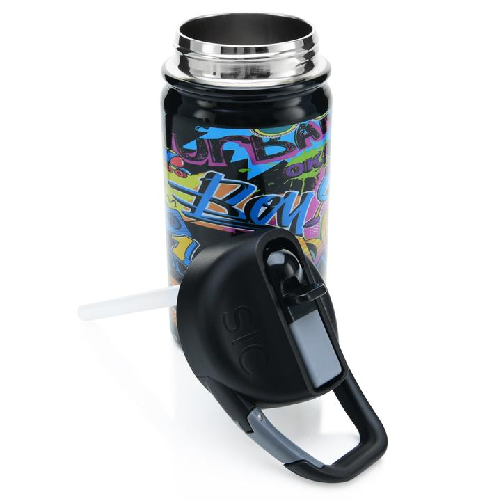 Lil 12oz Water Bottle (Graffiti)
