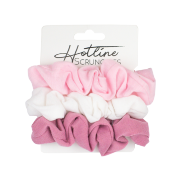 Hotline Hair Ties Scrunchie Set (Ballerina Comfy Tee)