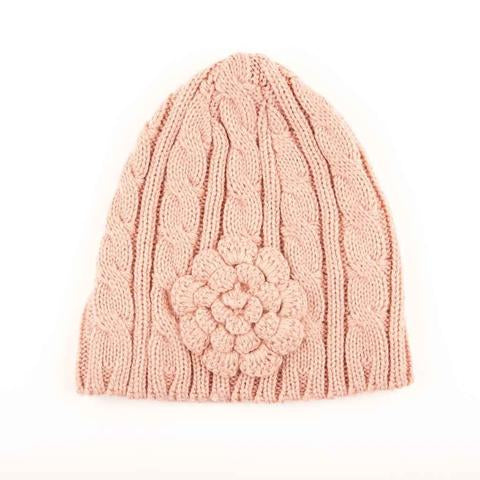 Flower CC Beanie (Multiple Colors)
