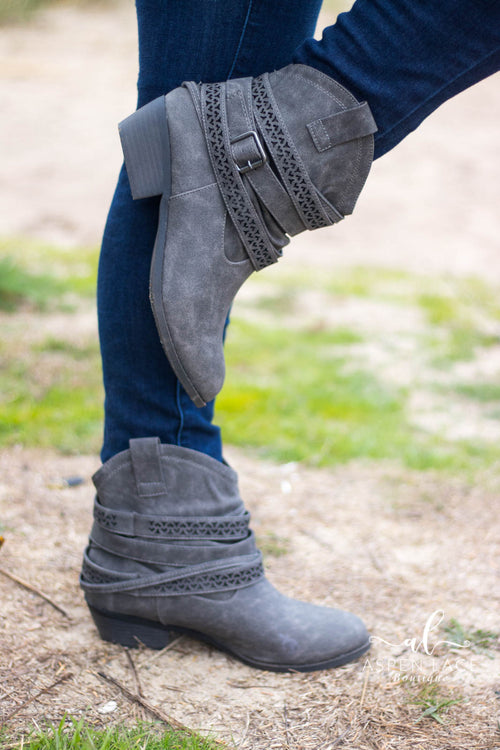 Not Rated Sunami Boots (Grey)