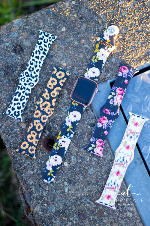Aleah Silicone Watch Bands (Multiple Options)