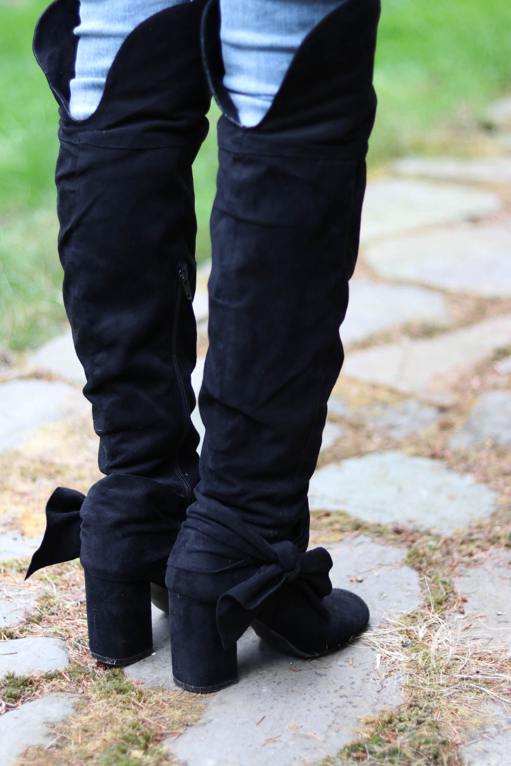 *Final Sale* Not Rated Tatiana Over the Knee Boots (Black)
