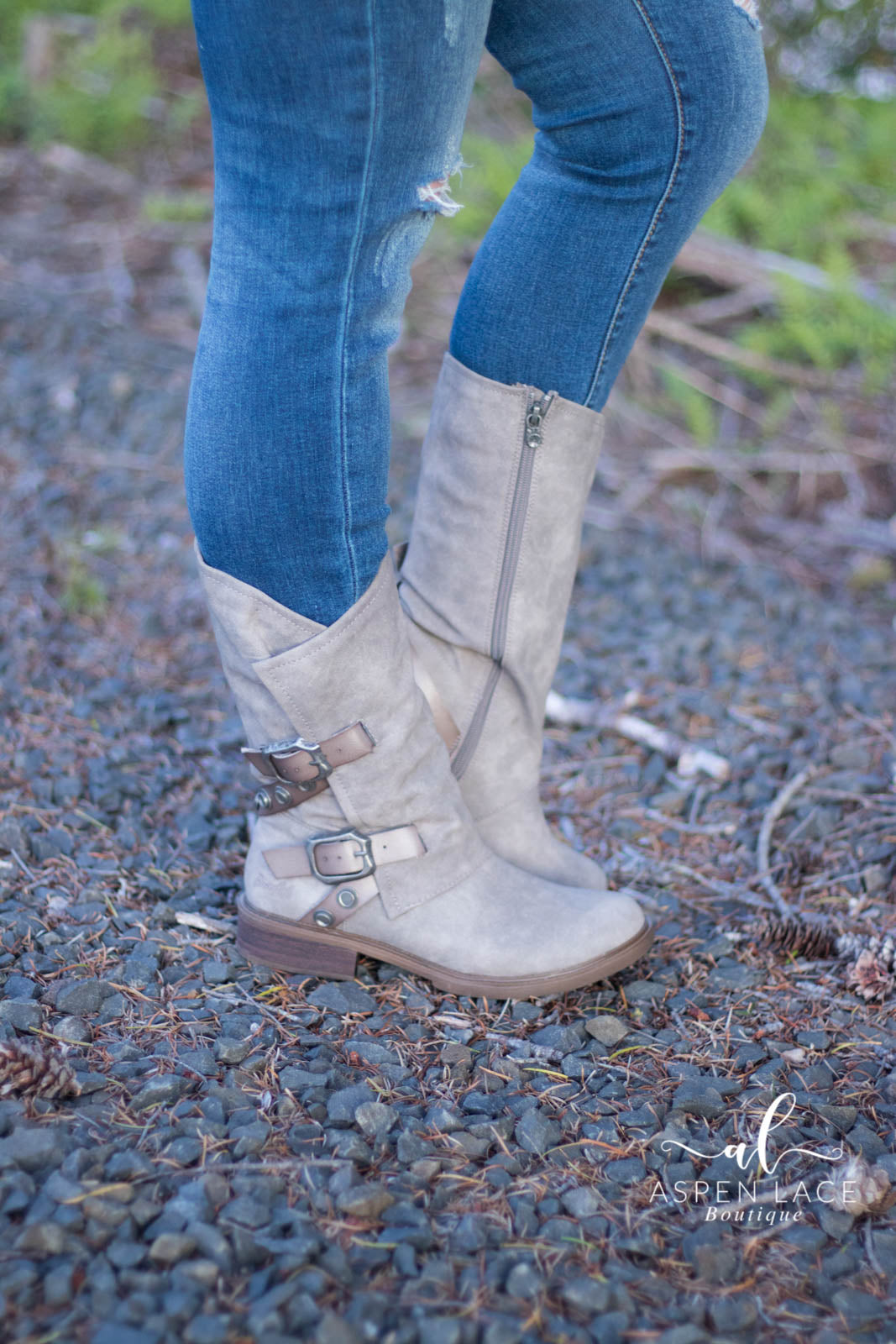 Blowfish Vacation Boots (Grey)