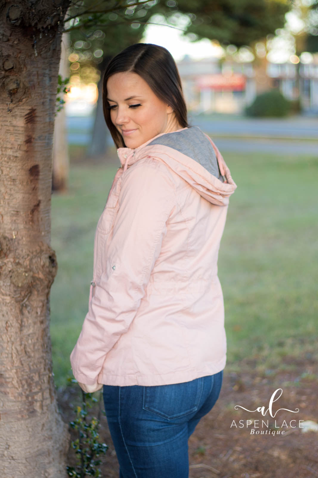 Henley Jacket (Blush)