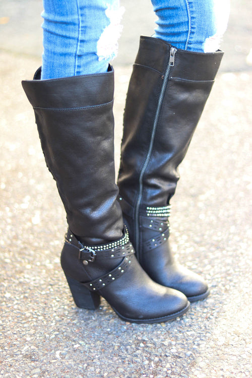 Not Rated Raine Boots (Black)