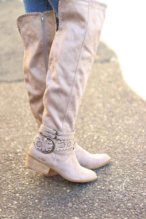 Not Rated Bianca Boots (Taupe)