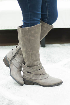 **DOORBUSTER- Not Rated Grover Boots (Taupe)