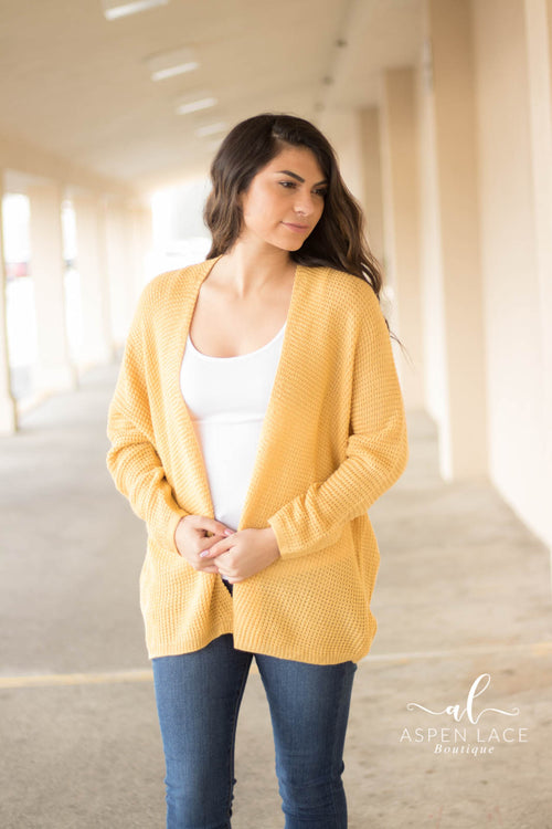 Raynee Cardigan (Yellow)