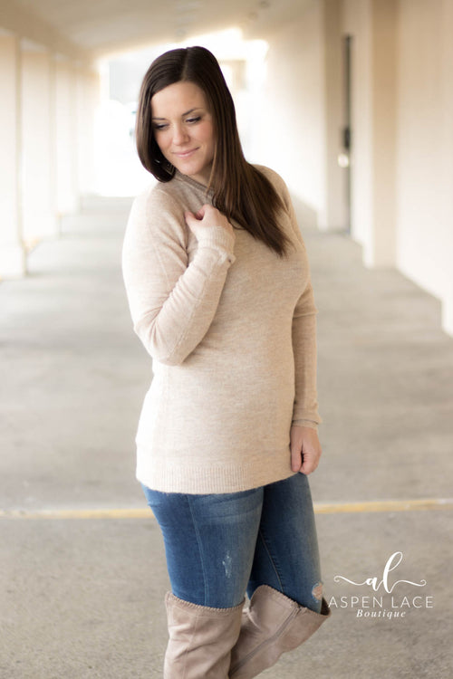Ella Sweater (Oatmeal)