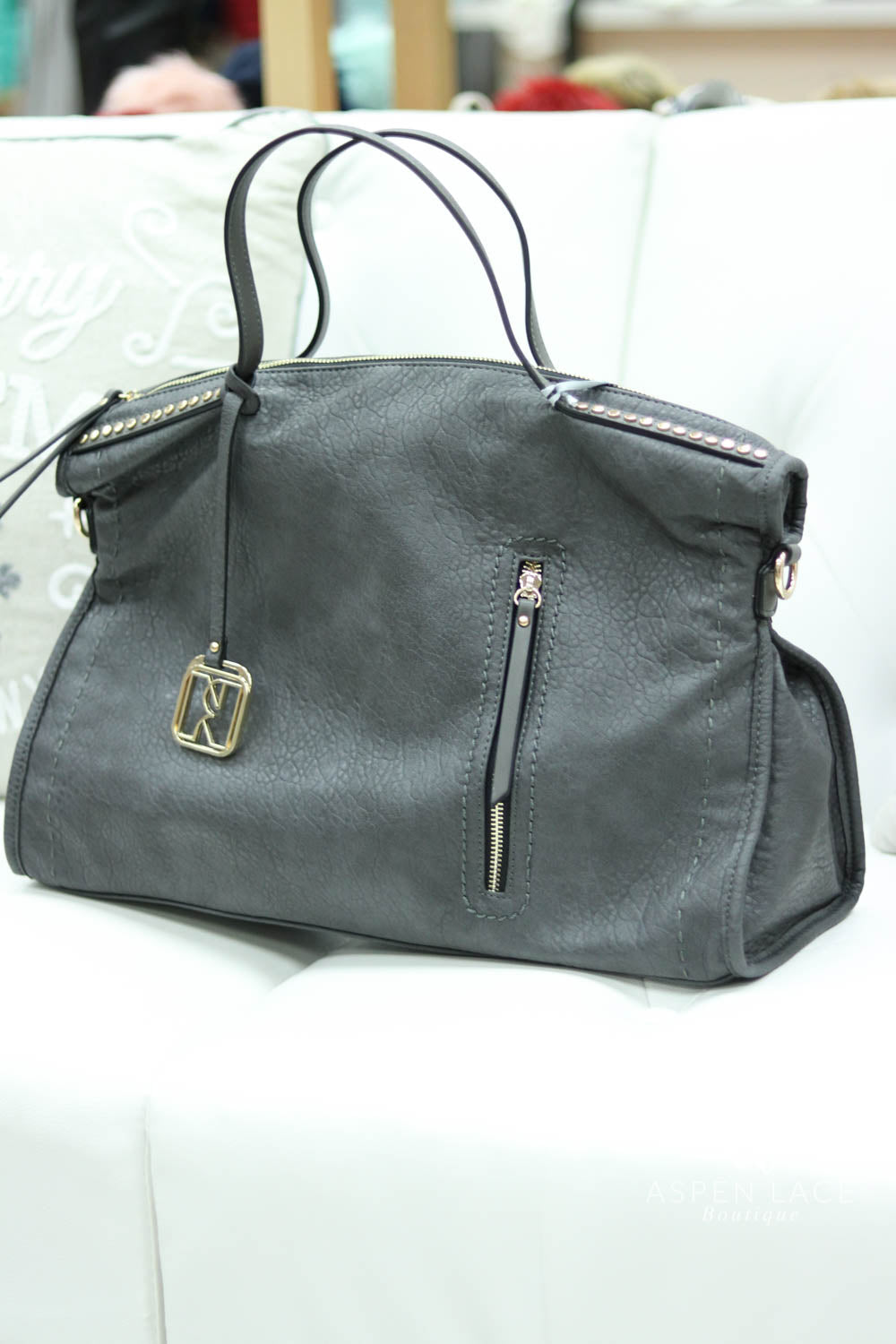 Not Rated Jalila Handbag (Dark Grey)