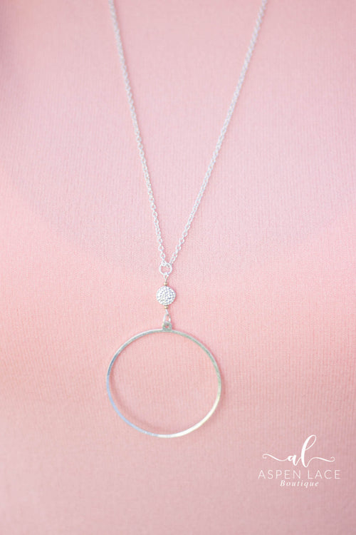 Abby Necklace (Silver)