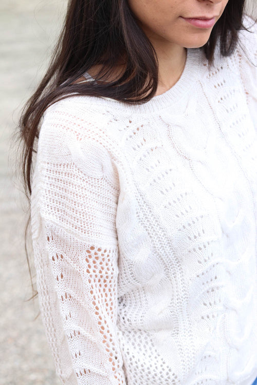 Ollie Knit Sweater (Oatmeal)