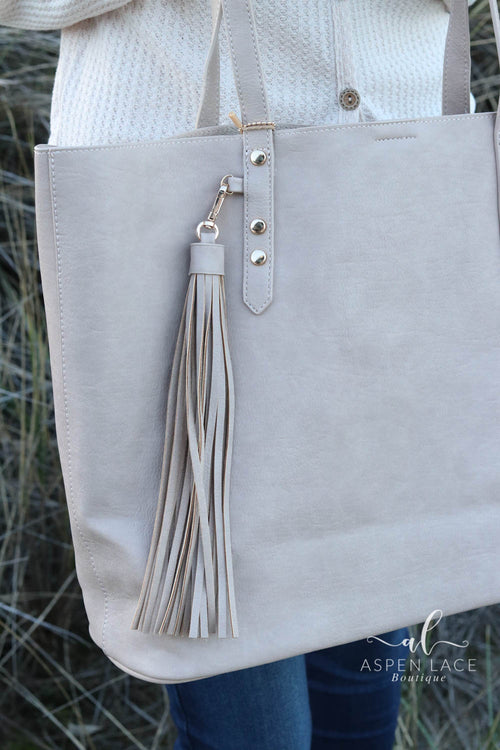 Adeline Tote (Taupe)