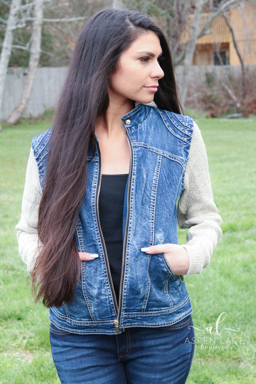 Christy Jean Jacket Vest