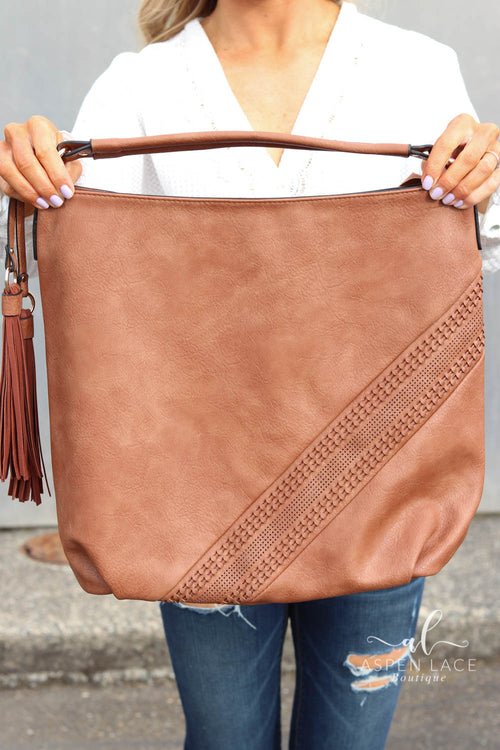 Shasta Hobo Bag (Brown)