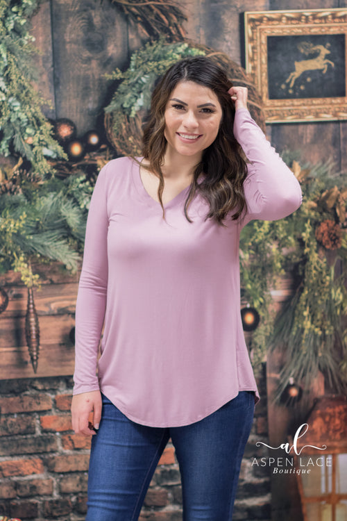 Back to Basics Elaine Top (Light Rose)