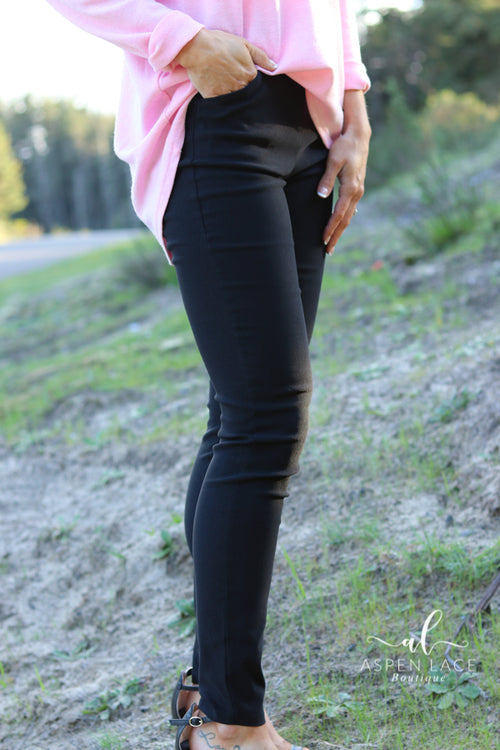 Nalani Dress Pants (Black)